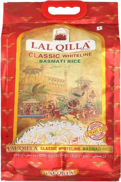 LAL QILLA Classic White Line Basmati Rice 5Kg - Gluten free Basmati Rice