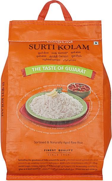 OMSOM  Rice Surti Kolam Rice (Medium Grain, Raw)