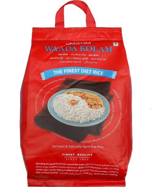 OMSOM Wada Kolam Rice Kolam Rice (Medium Grain, Raw)