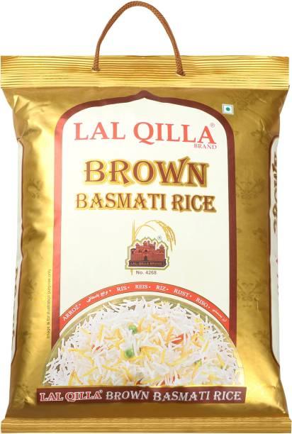 LAL QILLA Brown Basmati Rice 5Kg - Gluten free Brown Basmati Rice