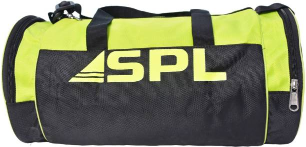 SPLW Sports, Gym, Outdoor, Travel Bag (Green/Black) 20 L Capacity