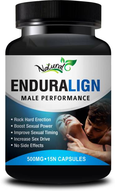 Natural Enduralign Sexual Supplement Helps To Increase penis length and girth 100% Ayurvedic