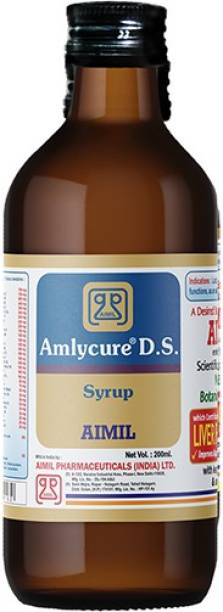 AIMIL Amlycure D.S. Syrup for Liver Health - Natural Liver Herbal Tonic   Improves Cell Function and Increases Immunity