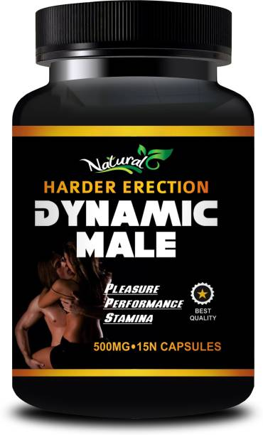 Natural Dynamic Male Capsules For Boost Your Time & Stamina, Increases Size 100% Ayurvedic