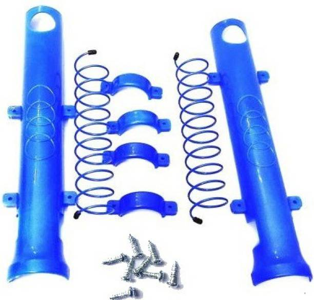 GTRIDE Durable & Flexible Blue Bike Shocker Cover For All Hero Bikes Bike Crash Guard