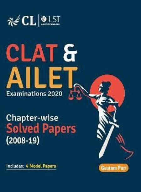 CLAT & AILET 2021 : Chapter Wise Solved Papers 2008-2020 8 Edition