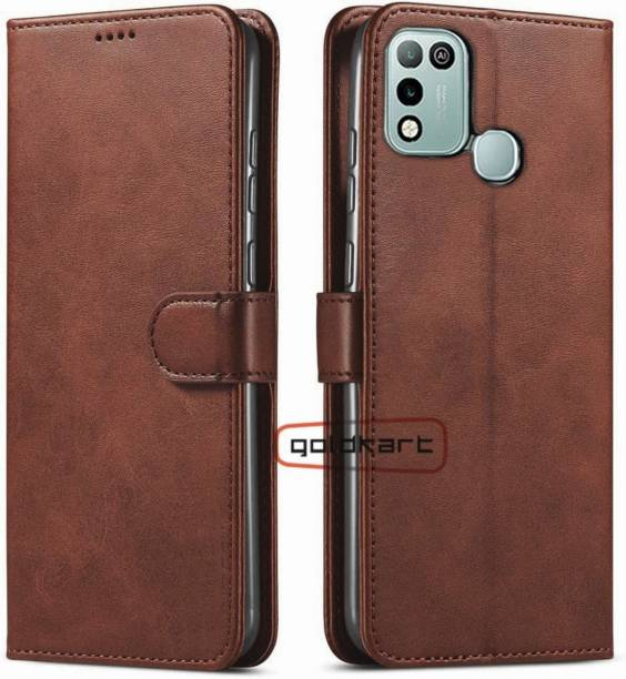 GoldKart Back Cover for Infinix Hot 10 Play