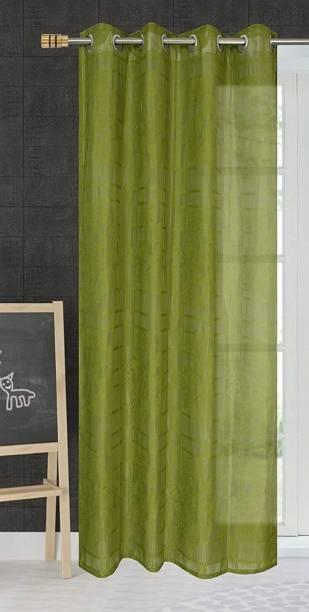 RSTC 152 cm (5 ft) Net Window Curtain Single Curtain