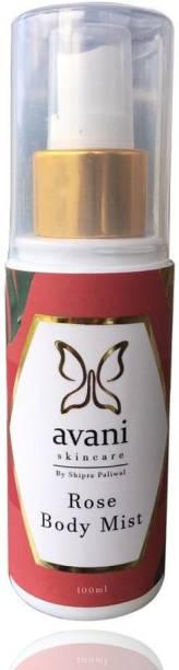 Avani Skincare Rose Body Mist (100 Ml) Body Mist  -  For Women