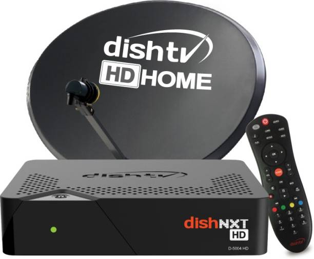 Dish TV High Definition Set top box with one month basic FTA North pack + Free Installation