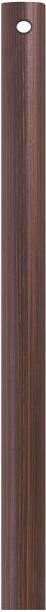 PMW 1 Feet - 12 Inch - Ceiling Fan Down Rod - Iron Rod - Brown - Pack of 2 Conventional Box Regulator