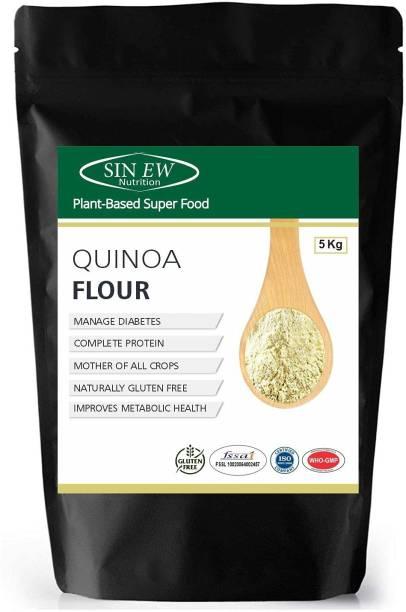 SINEW NUTRITION Quinoa Flour | Gluten Free , High Protein, Fibre, and Iron| Quinoa Atta