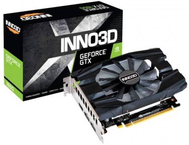 Inno3D NVIDIA GEFORCE GTX 1650 4 GB GDDR6 Graphics Card