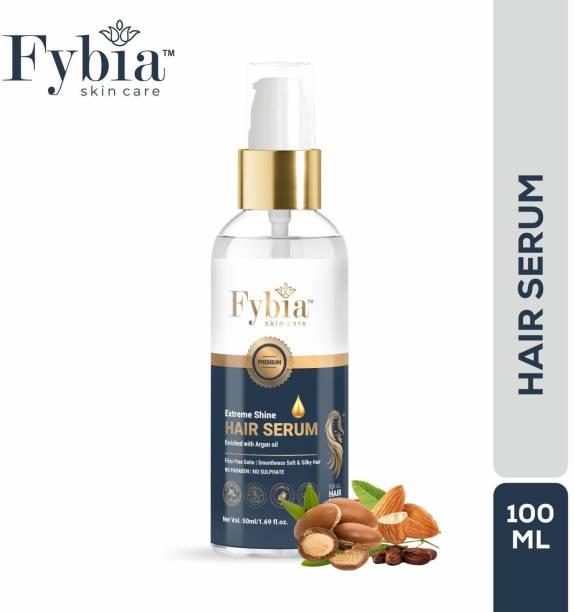 fybia skin care Extreme Shine Hair Serum Enriched With Argan Oil