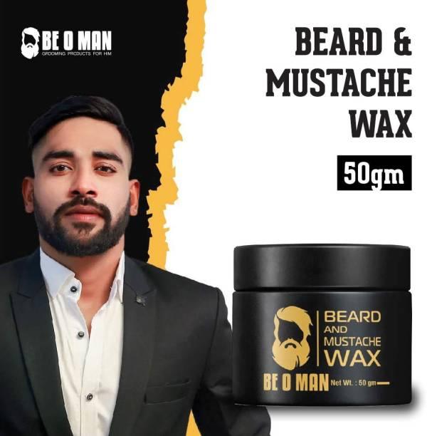 Be O Man Beard And Mustache Styling Wax Hair Wax