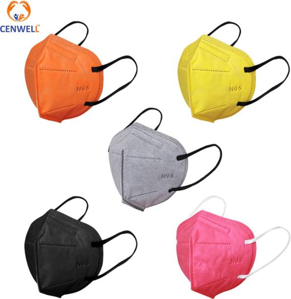 CENWELL N95 SOLID COLOURS Water Resistant, Washable