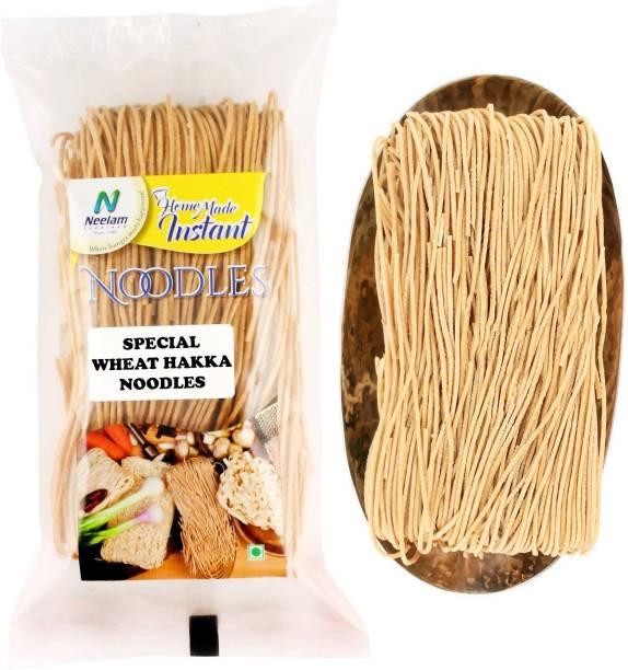 Neelam Foodland Special Wheat Hakka Noodles (200G) Hakka Noodles Vegetarian