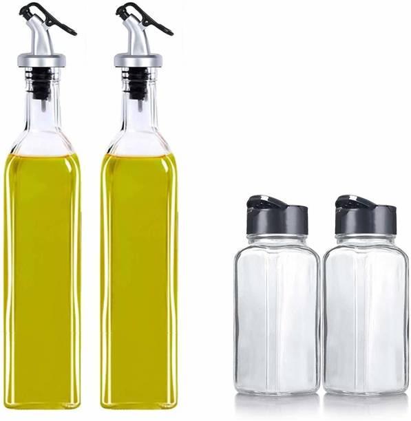 JIGSHTIAL 500 ml, 100 ml Cooking Oil Dispenser