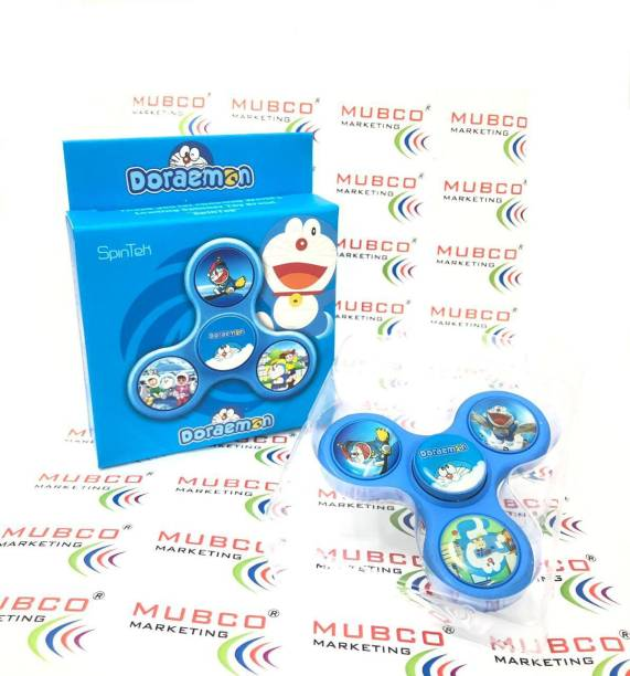 Mubco Doraemon Cartoon Character Fidget Spinner Toys | Premium Quality Toy for Kids & Adults