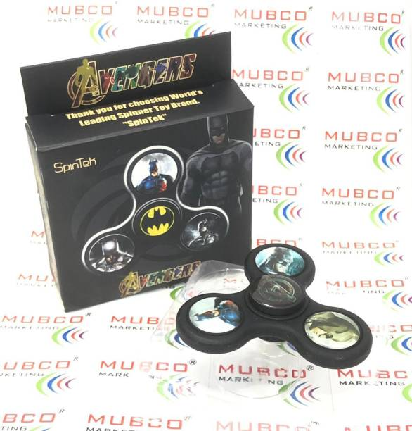 Mubco Avengers Batman Character Fidget Spinner Toys | Premium Quality Toy for Kids & Adults
