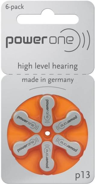 Power one Hearing Aid Battery Size 13 -Pack Of 24 Batteries PowerOne-13no-24Battery Stethoscope Case