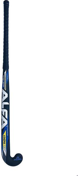 ALFA Compo 1001 Limited Edition Hockey Stick with Stick Bag & Hollow BalL02 Hockey Stick - 37 inch
