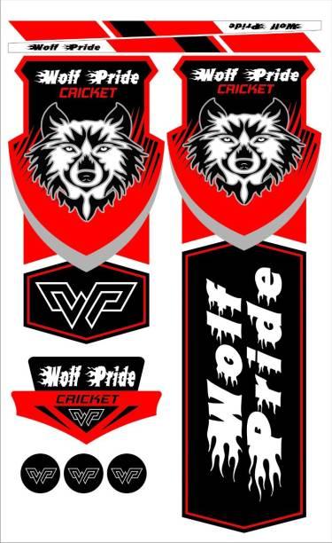 WOLF PRIDE Red1 Bat Sticker