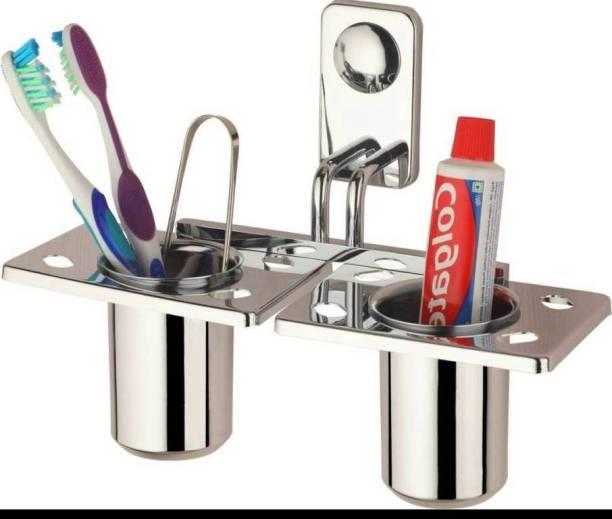 GLAZIO RMAX SA 2011 Steel Toothbrush Holder