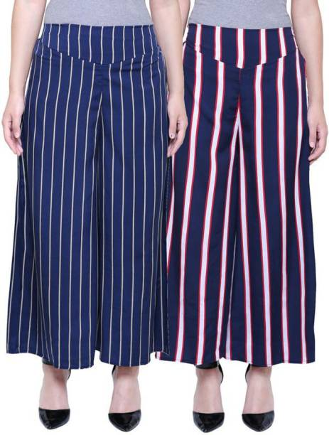 FMC Relaxed Women Multicolor Trousers