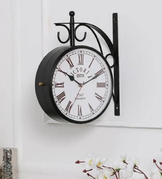 Accents & Decor Analog 25.4 cm X 20.32 cm Wall Clock