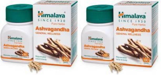 HIMALAYA Ashvagandha General Wellness Tablet Pack of 2