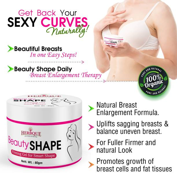 herbque Beauty Shape Cream for Maintain Breast Size & Shape