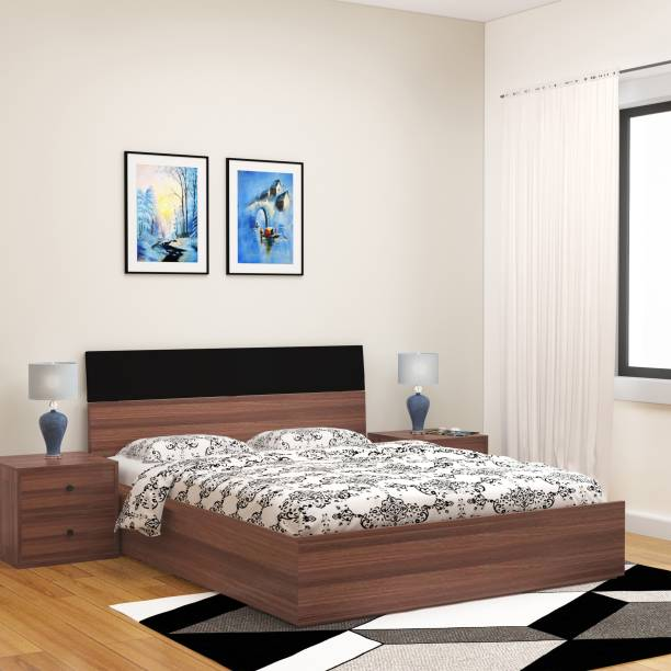 Bharat Lifestyle Engineered Wood Queen Bed