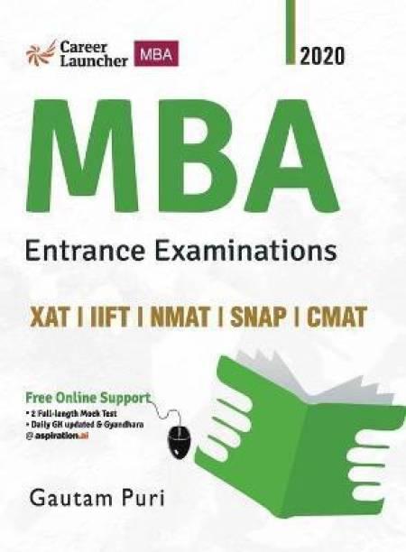 MBA 2020-21 Study Guide (Xat Iift Nmat Snap Cmat)