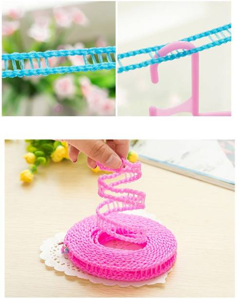 ShoppoWorld 3 Meter Windproof Anti-Slip Clothes Washing Line Drying Rope with Hooks Nylon Retractable Clothesline Nylon Retractable Clothesline