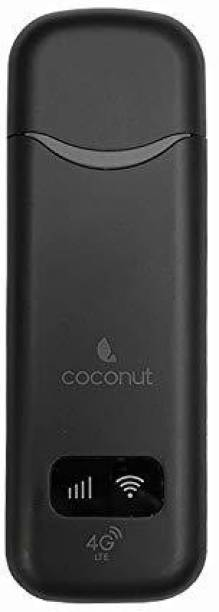 Coconut WUD 04 Dongle with All sim Support | 4g Data Card with WiFi Hotspot | Fast 4g WiFi dongle Data Card