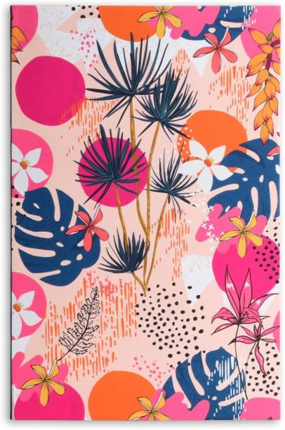 doodle Pastel Petals Notebook A5 Diary Ruled 160 Pages