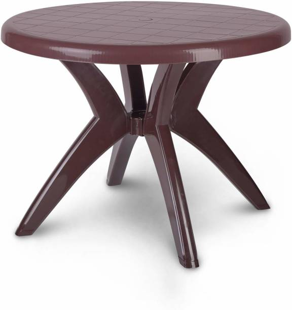 Supreme Marina Brown Dinning Table Plastic 4 Seater Dining Table
