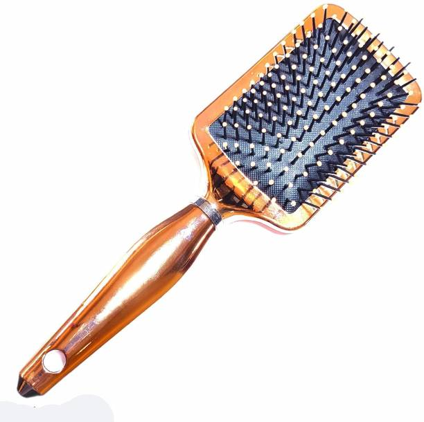 High Profile Large Square Paddle Brushes for Hair Brush Groom Detangling for Women / Girls Long Hair Flat Hair Brush for Detangling Women - Pack of 1 pc