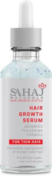 Sahaj Naturals Anti-Hair Loss Serum with Advanced Redensyl & Procapil Formula along with Vitamin E, B & Aloe Vera for Men & Women