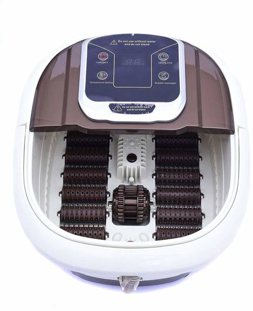 Healthcave HC-P56 Aqua Foot Massager for Foot Relaxing Pedicure with Infrared Heating Technology Unisex Massager