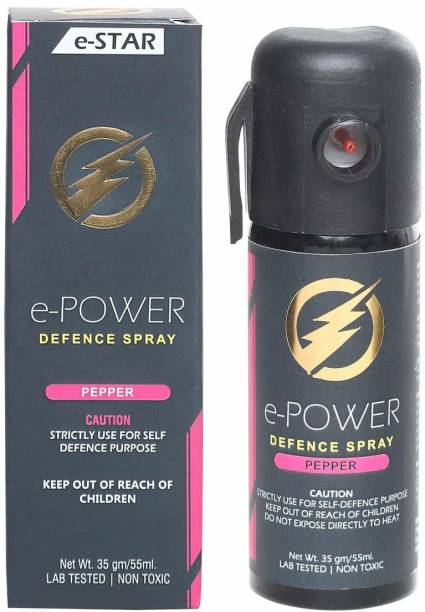 E POWER for Women Safety Self Defence 55 ML Pepper Stream Spray