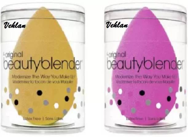 vehlan Beauty Blender sponge puff Pack of 2