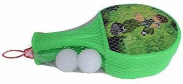 DIKUJI ENTERPRISE Sport Accessories For Kids, Table Tennis Badminton Plastic Racket Set With Ball Table Tennis Kit