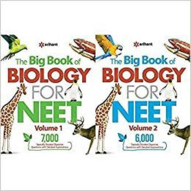 The Big Book Of Biology For NEET ( Vol- 1 & 2 ) SET Of 2 Books , Objective Questions With Detailed Explanations For Exam - 2022