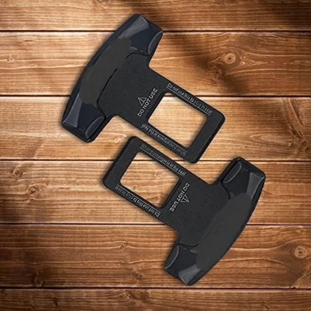 SEMAPHORE Car Logo Safety Seat Belt Buckle Clip Car Seat Belt Stopper Plug TRD Design for Maruti Suzuki Swift Seat Belt Stopper Clip
