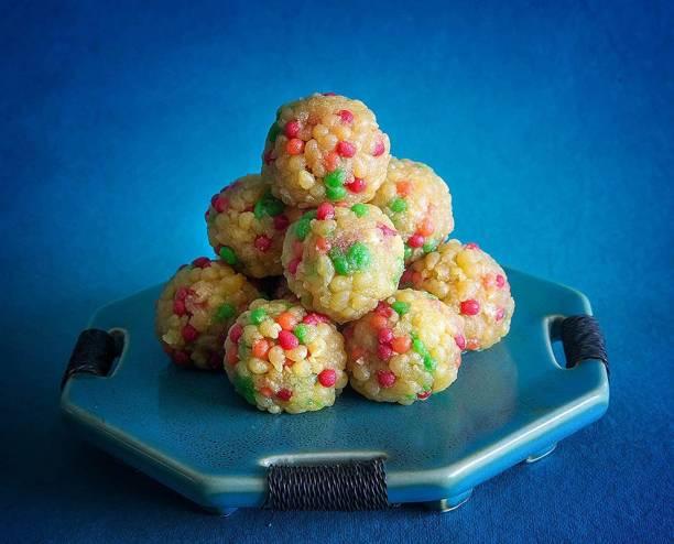 Dessert Drama Indian Authentic Fresh Celebration Laddoo Sweet box Box