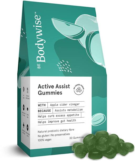 Bodywise Apple Cider Vinegar Gummies For Women, Helps In Weight Loss & Digestion