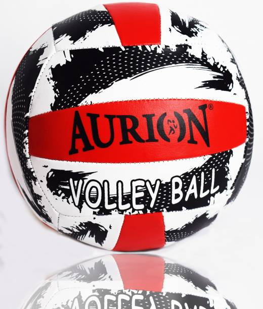 Aurion Soft Touch Volley Ball Official Size 5 Outdoor Indoor Beach Game Ball New Volleyball - Size: 5