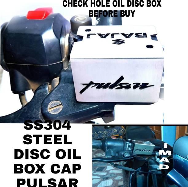 imad DSIC BRAKE OIL BOX COVER FOR BAJAJ PULSAR Bike Crash Guard